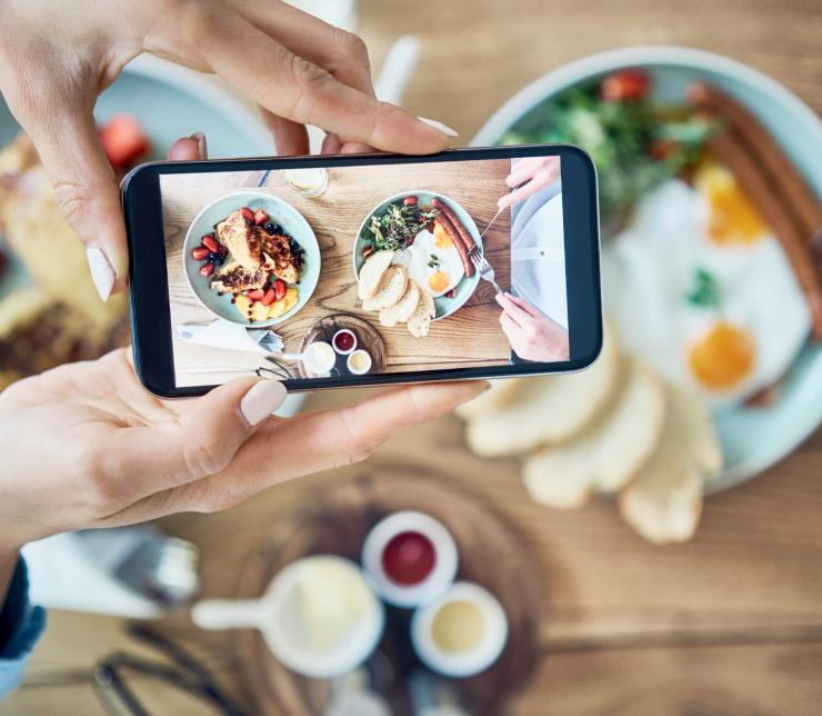Show off your plate – how to showcase your food properly