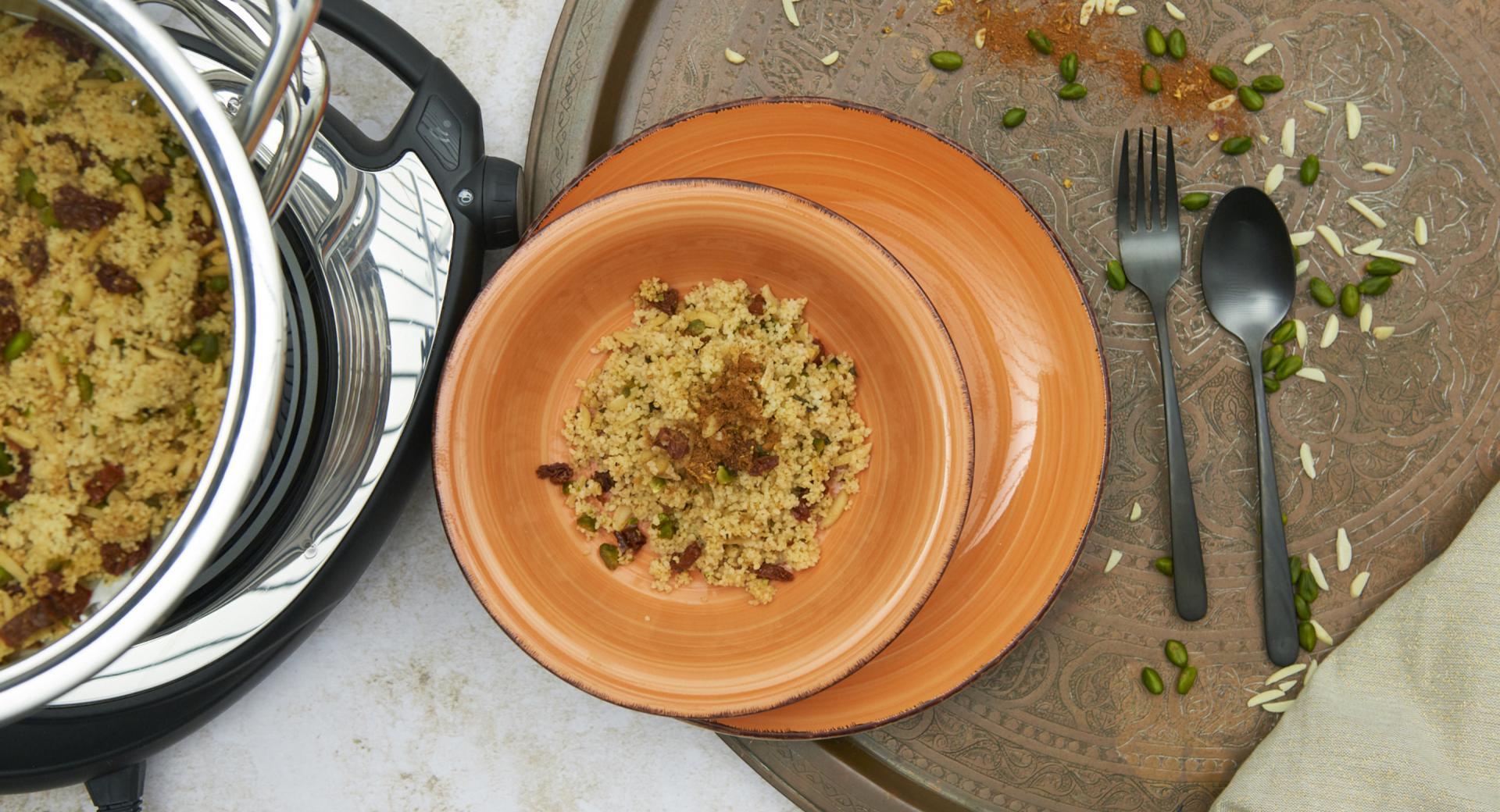 Spice couscous