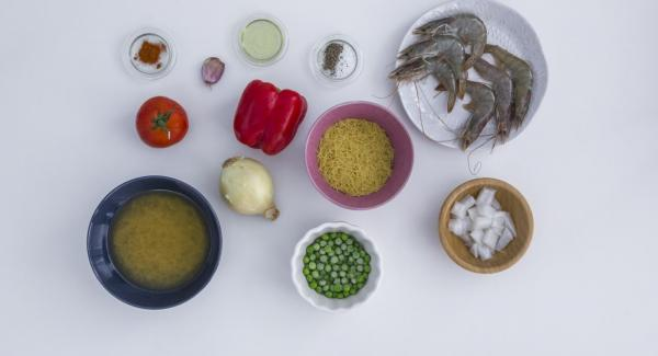 Overview of ingredients