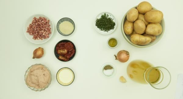 Overview of ingredients.