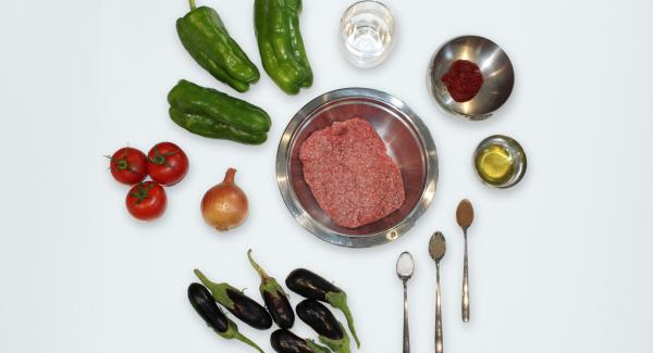 Overview of the ingredients.