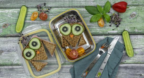 Kids Sandwichtoast with avocado