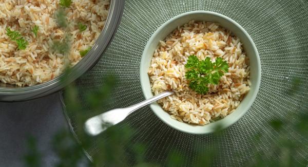 Basic recipe for Turkish Rice (Pilaf)