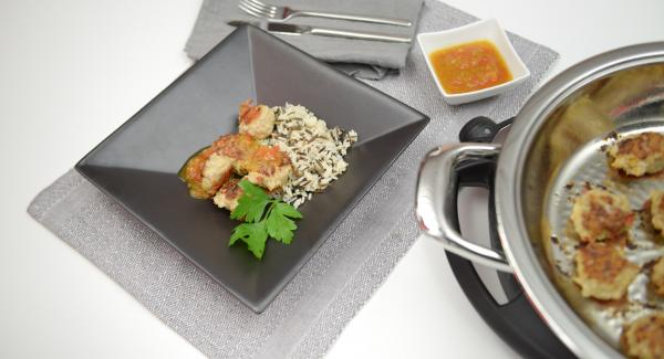 Asian-style poultry meatballs