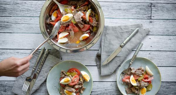 Beef salad (Bernese style)