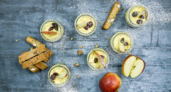 Apple trifle
