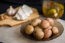Jacket potatoes (basic recipe)
