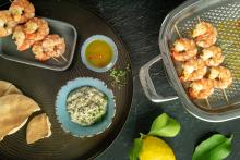 """Oriental"" lemon marinade"